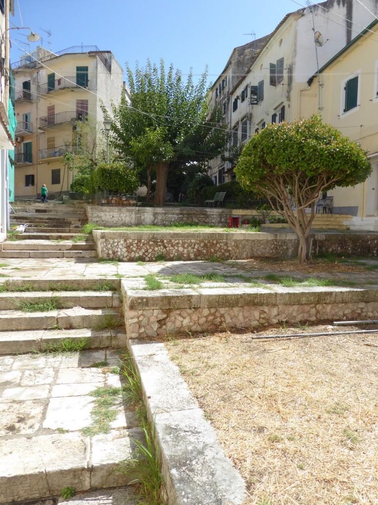 Korfu Altstadt - kein Mensch